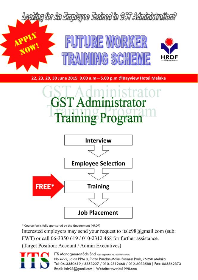 FWT – GSTA (Employer)