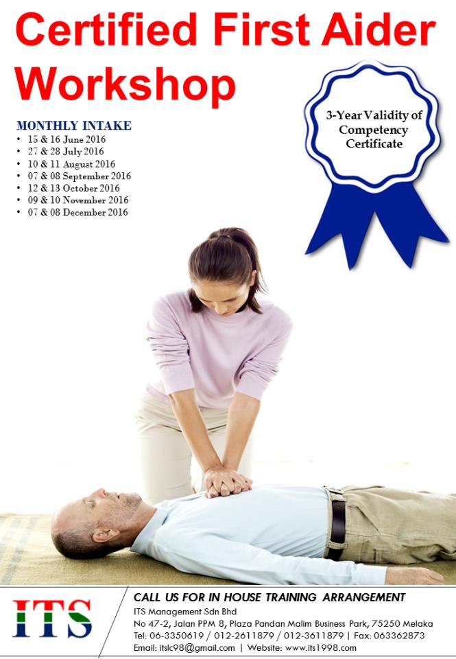 Leaflet - Certified First Aider Workshop (SBL).png