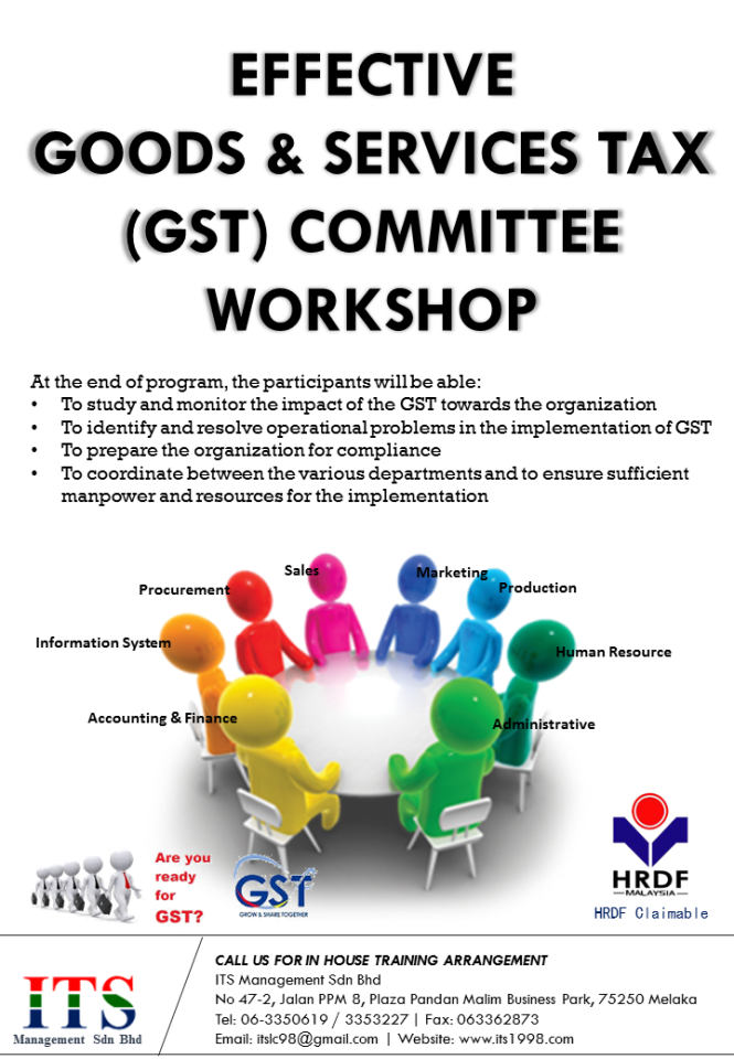 Leaflet - Effective GST Committee