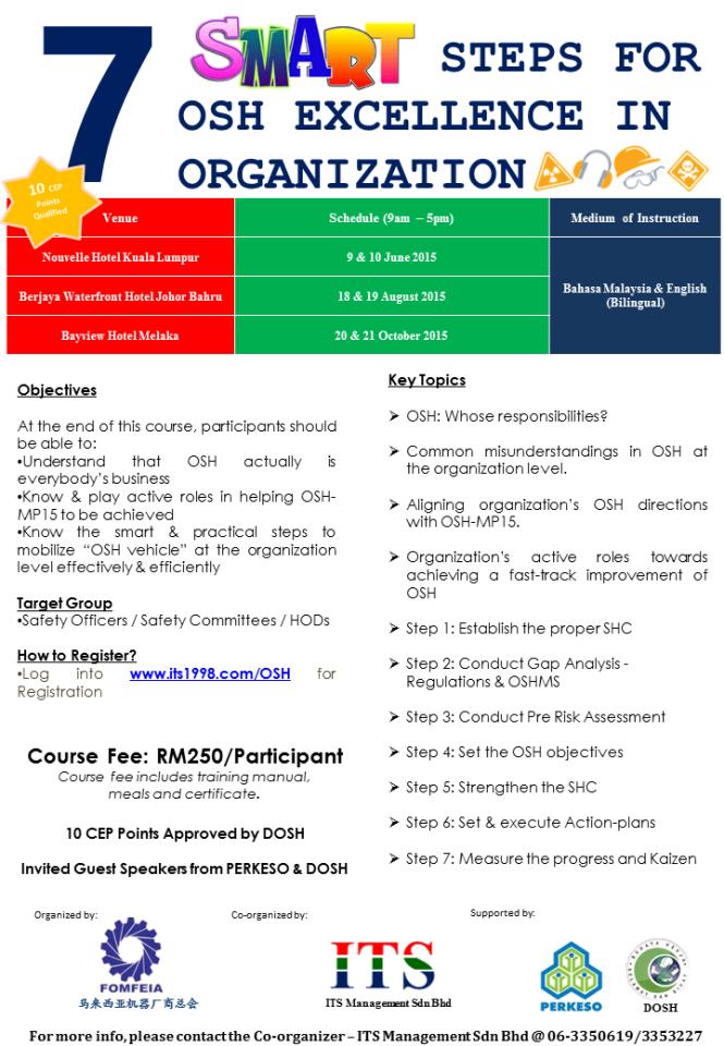 Leaflet - OSH Seminar
