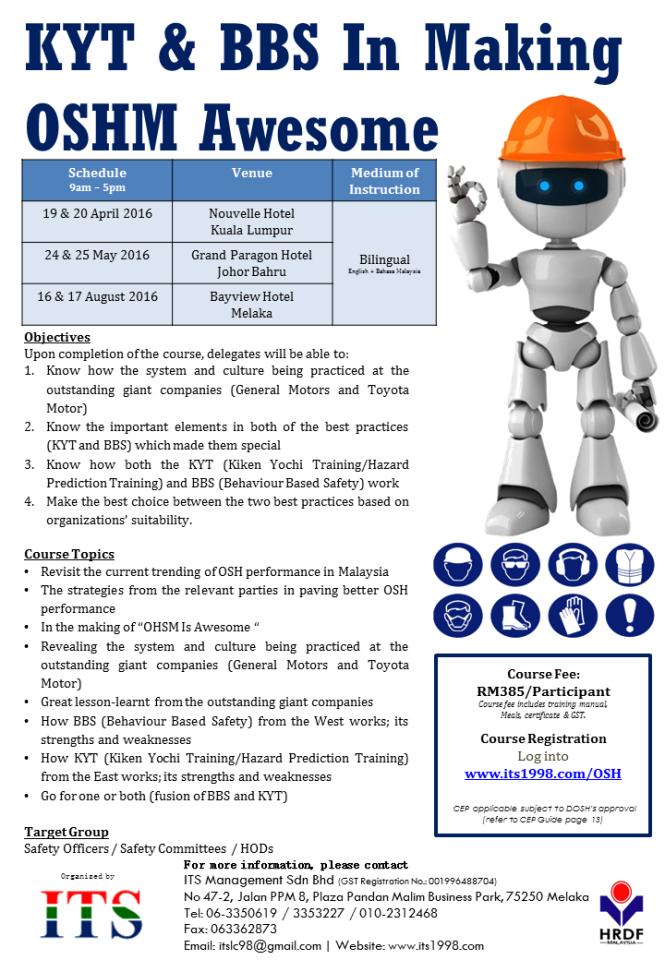 Leaflet - OSH Seminar 2016
